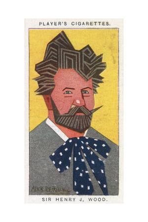 Sir Henry Joseph Wood - English Conductor