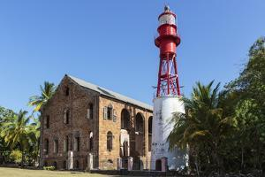 French Guiana, Ile Royale. Lighthouse Situated on Prison Island by Alida Latham
