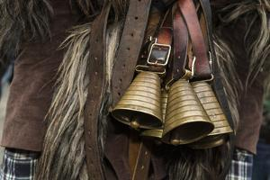 Italy, Sardinia, Mamoiada. Close-Up of the Metal Bells on a Traditional Pagan Mamuthone Costume by Alida Latham