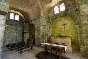 Italy, Sardinia, Oristano. the Apse and Pews of the Church of San Giovanni by Alida Latham
