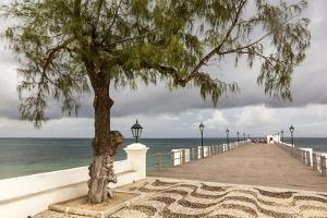 View of the Sea of Zanj from Dock, Mozambique Island, Mozambique by Alida Latham