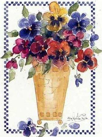 Flower Decor II by Alie Kruse-Kolk