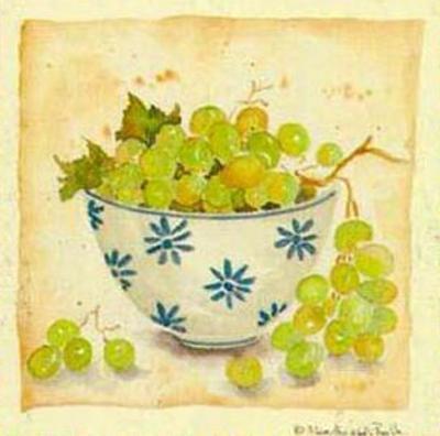 White Grapes by Alie Kruse-Kolk