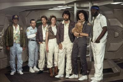 Alien, 1979 directed by Ridley Scott with Harry Dean Stanton