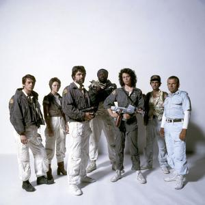 Alien, 1979 with John Hurt, Veronica Cartwright, Tom Skerritt, Yaphet Kotto, Sigourney Weaver