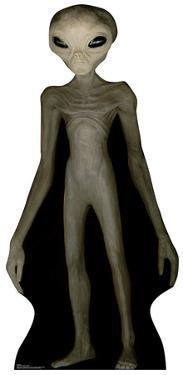 Alien Cardboard Cutout
