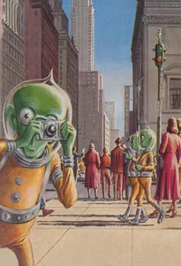 Aliens in the City