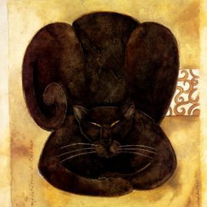 Meditation du Chatman by Aline Gauthier