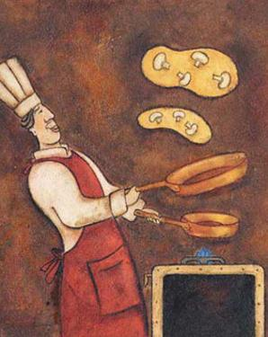 The Omelette Chef by Aline Gauthier