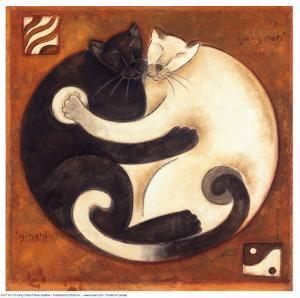 Yin Chi Yang Chats by Aline Gauthier