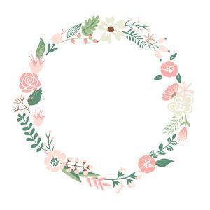 Floral Frame by Alisa Foytik