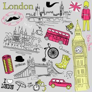 London Doodles by Alisa Foytik