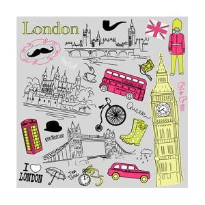 London Doodles by Alisa Foytik