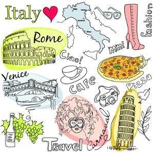 Sightseeing In Italy by Alisa Foytik