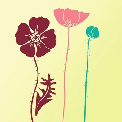 Spring Floral Background by Alisa Foytik