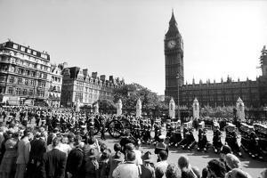 Earl Mountbatten's funeral, 1979 by Alisdair Macdonald