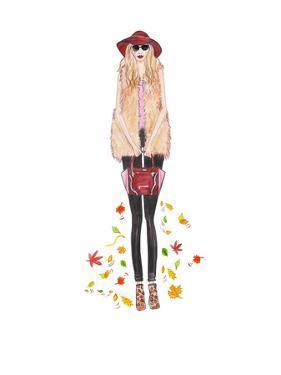 Boho Fall by Alison B Illustrations