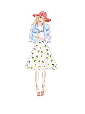 Boho Floral by Alison B Illustrations