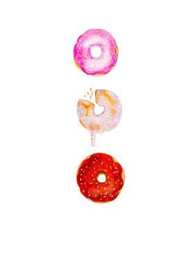 Doughnut Trio by Alison B Illustrations