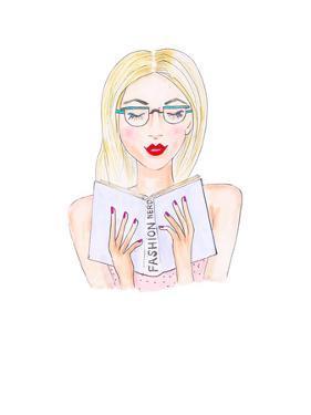Fashion Nerd by Alison B Illustrations