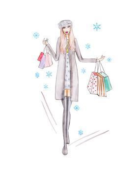 Grey Girl by Alison B Illustrations