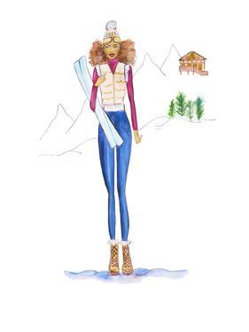 Ski Final by Alison B Illustrations