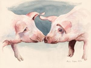 Two Little Piggies, 2012 by Alison Cooper