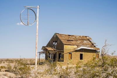 California, Drought Spotlight 3 Route 66 Expedition, Ludlow, Abandon Building by Alison Jones