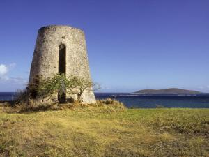 Carden Plantation Sugar Mill on Teague Bay, St. Croix, US Virgin Islands by Alison Jones