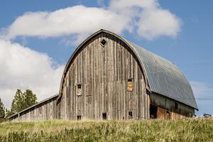 Idaho, Columbia River Basin, Camas Prairie, Old Barn by Alison Jones