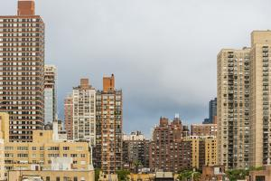 New York. New York City, Manhattan, Upper East Side, view from apt looking south over E 89th by Alison Jones