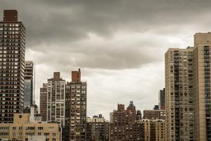 New York, New York City, Manhattan, View from Apt Looking over E 89Th by Alison Jones