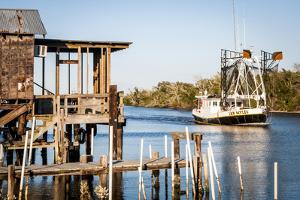 Shrimp Boat, Cocodrie, Terrebonne Parish, Louisiana, USA by Alison Jones