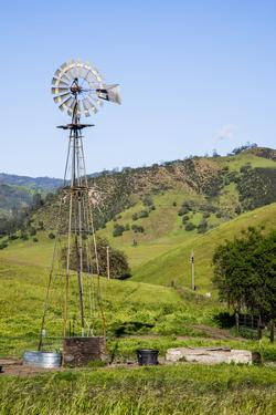 USA, California, Pinnacle National Park, Old Windmill by Alison Jones