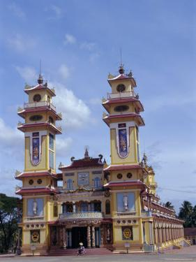 Cao Dai Temple, Synthesis of Three Religions, Confucianism, Vietnam, Indochina by Alison Wright