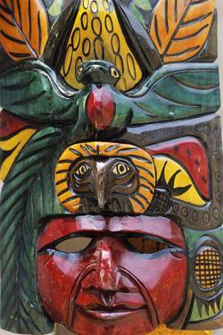 Indigenous Mask Carving by Alison Wright