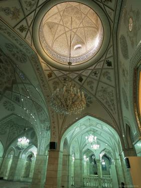 Interior, Sayyida Ruqayya Mosque, Damascus, Syria, Middle East by Alison Wright