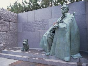 Memorial to Fdr, in Washington Dc, United States of America, North America by Alison Wright