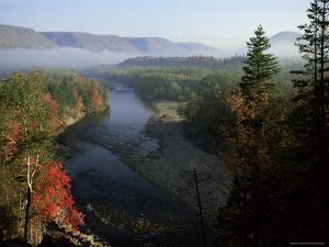 River in Margaree Valley, Cape Breton, Canada, North America by Alison Wright