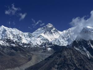 Snow-Capped Mount Everest, Seen from the Nameless Towers, Himalaya Mountains, Nepal by Alison Wright