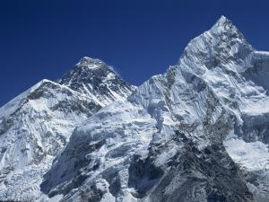 Snow-Capped Peak of Mount Everest, Seen from Kala Pattar, Himalaya Mountains, Nepal by Alison Wright