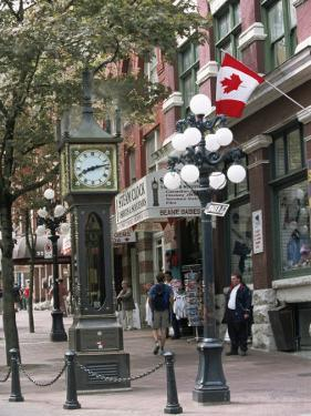 Steam Clock in Gastown, Vancouver, British Columbia, Canada by Alison Wright