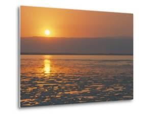Sunset on the Dead Sea, Jordan, Middle East by Alison Wright