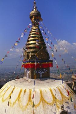 Swayambhunath Temple, Kathmandu, Nepal by Alison Wright