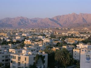 View of the City, Aqaba, Jordan, Middle East by Alison Wright