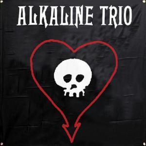 Alkaline Trio - Skull Heart Flag