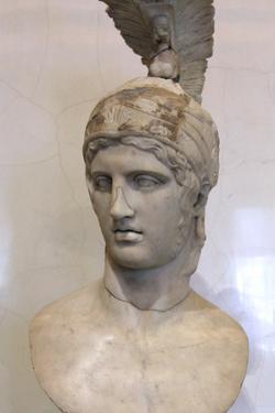 Head of Ares, God of War, Early 2nd Century by Alkamenes Alkamenes