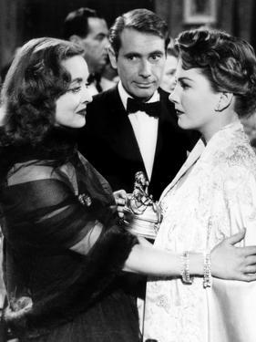 All About Eve, Bette Davis, Gary Merrill, Anne Baxter, 1950, Confrontation