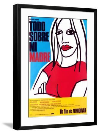 All About My Mother - Spanish Style--Framed Poster