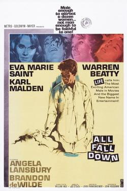 All Fall Down, from Top: Eva Marie Saint, Warren Beatty, 1962